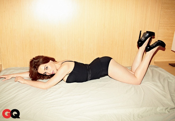Breakfast at Tiffany's Star Emilia Clarke Heats Up GQ in Steamy (Bed) Spread