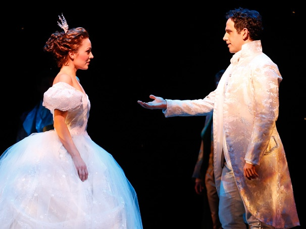 Cinderellas  Santino Fontana on Laura Osnes Twitter Pressure & Leaving Broadway to Be a Gym Teacher  