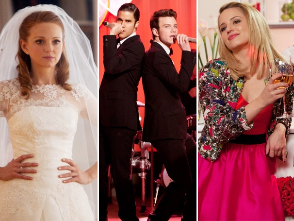 Hook-Ups, Break-Ups and Lea Michele's Knocked-Up?! Glees 'I Do' Episode Outdoes Itself
