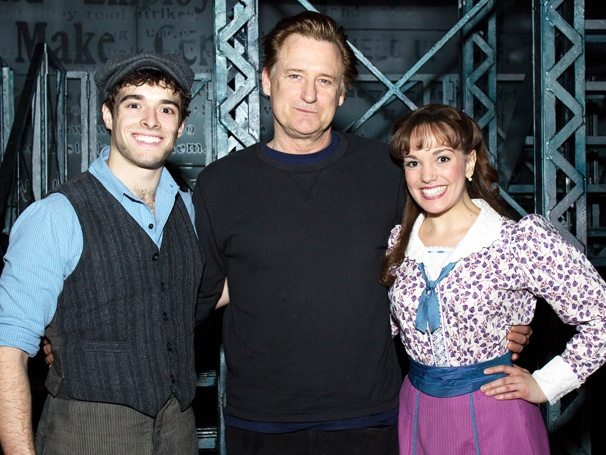Newsies Then and Now! Bill Pullman Visits the Stars of the Hit Musical