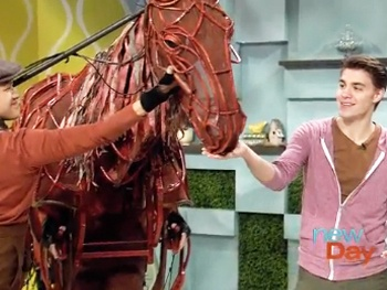 War Horse Tour Star Andrew Veenstra Takes Seattle Morning News Behind the Show's Magic