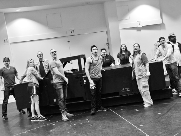 All Hands on Deck! Exclusive Photos of Hands on a Hardbody's Hunter Foster, Keith Carradine & More in Rehearsal