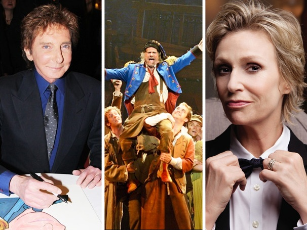 Top 10! The Return of Les Miz, Jane Lynch on Broadway & Manilow at Sardi's Spark the Week's Top Stories