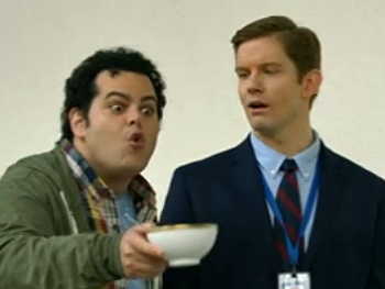 Mormon Reunion! Watch Josh Gad Crash Rory O'Malley's White House Tour on 1600 Penn