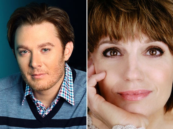 Clay Aiken and Beth Leavel