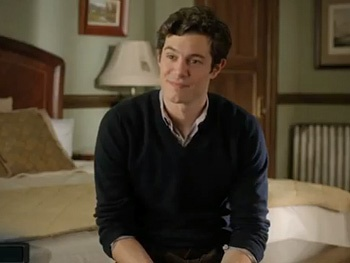 Watch Adam Brody and Emily Watson's Awkward Bedroom Encounter in a Sneak Peek of Neil LaBute's Some Girls