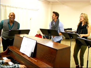 Take an Exclusive Sneak Peek at Nick Adams, Ashley Brown  & the Stars of Songs for a New World