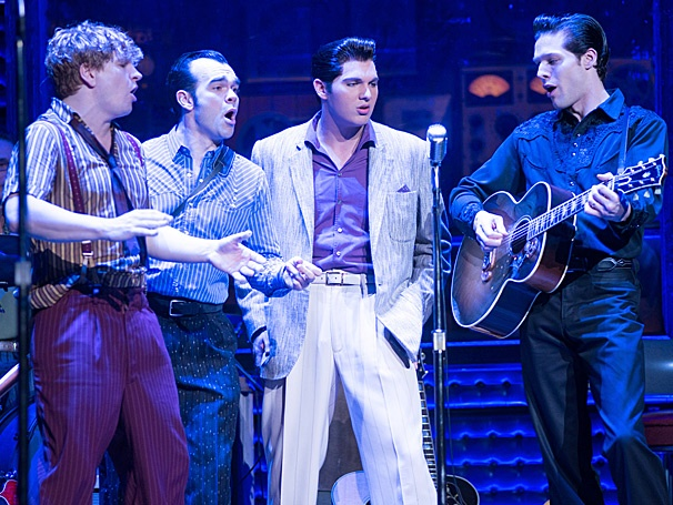 Get a Jumping Musical Preview of the Rock 'n' Roll Icons on Stage in Million Dollar Quartet