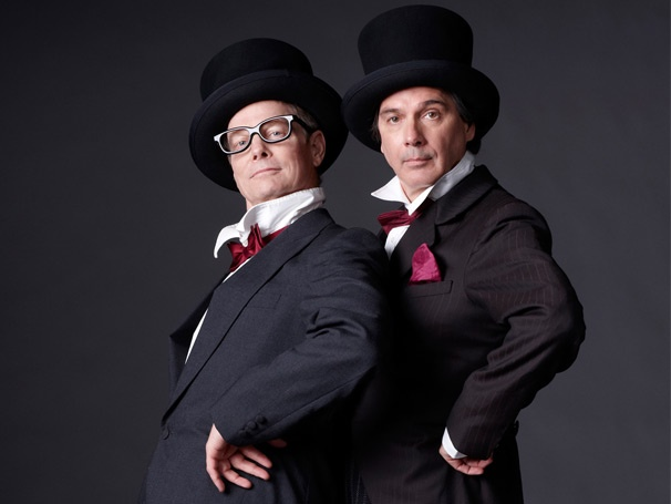 Send in the Clowns! Old Hats, Starring Bill Irwin & David Shiner, Opens Off-Broadway