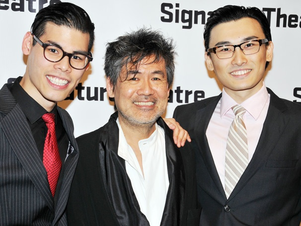 The Cast of David Henry Hwang's The Dance and the Railroad Celebrates a Soaring Opening Night