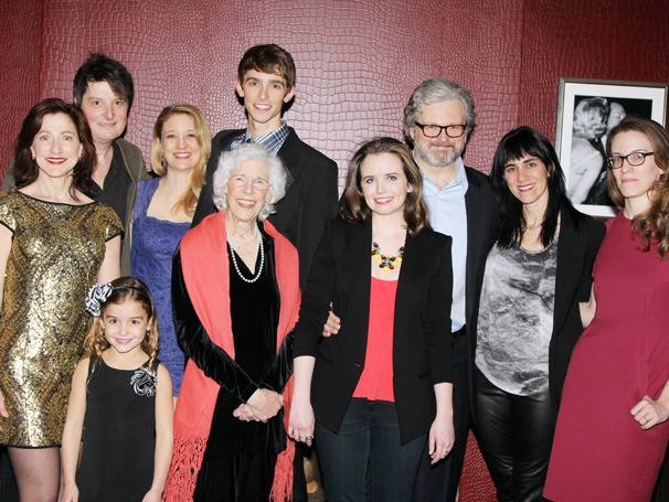 Edie Falco & the Cast of MTC's The Madrid Celebrate a Sensational Opening Night 