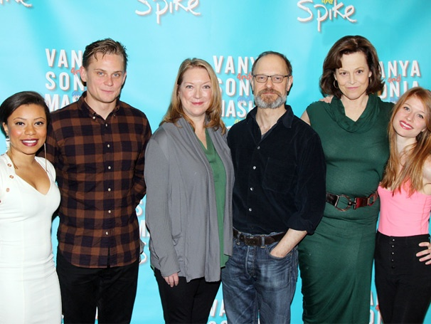 Sigourney Weaver, David Hyde Pierce & the Cast of Vanya and Sonia and Masha and Spike Gear Up for Broadway