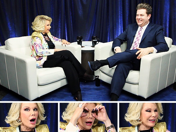 Comedy Icon Joan Rivers on Celebs Who Suck, Dressing Like a Hooker and Her Broadway 'Bucket List'