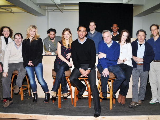 Bobby Cannavale and the Cast of The Big Knife Get Hollywood Ready at Rehearsal