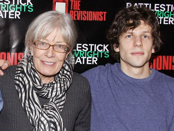 Jesse Eisenberg and Vanessa Redgrave Celebrate a Riveting Opening Night for The Revisionist
