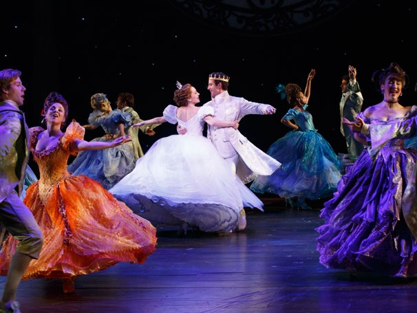 Fairy-Tale Musical Cinderella, Starring Laura Osnes and Santino Fontana, Opens on Broadway