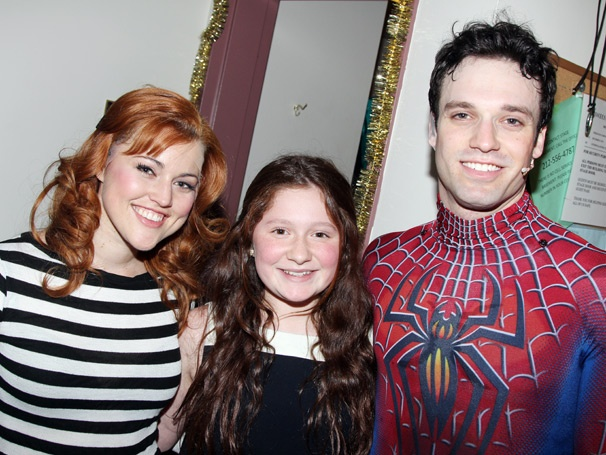 It's Showtime! Shameless Star Emma Kenney Checks Out Spider-Man, Turn Off the Dark