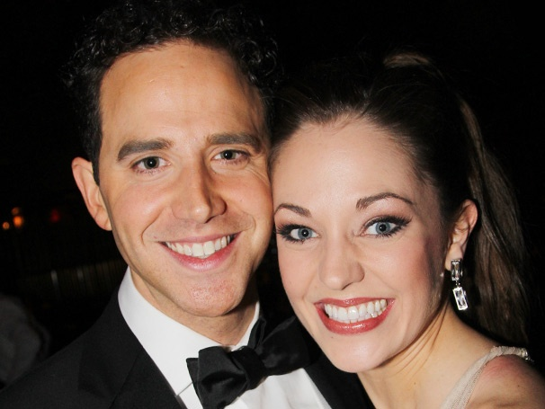 Laura Osnes, Santino Fontana & the Cinderella Company Celebrate a Fairy-Tale Opening Night