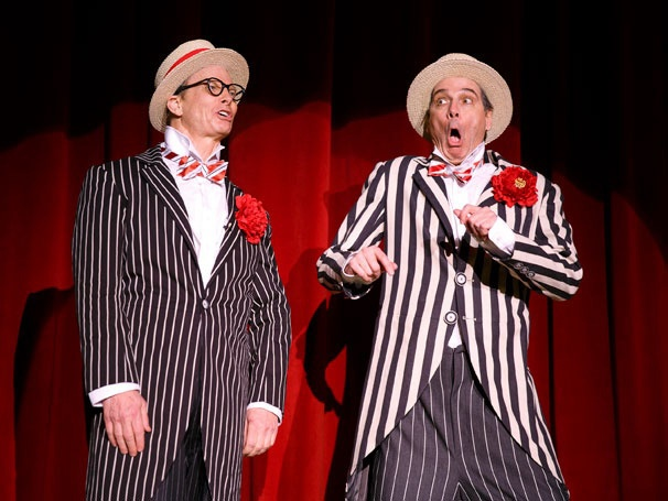 The Clowns are Here to Stay! Old Hats, Starring Bill Irwin & David Shiner, Extends Through June