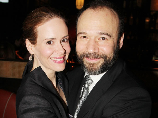 Sarah Paulson and Danny Burstein Share the Love on Opening Night of Talley's Folly