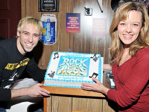 Party Time! Rock of Ages Becomes the 50th Longest Running Broadway Show