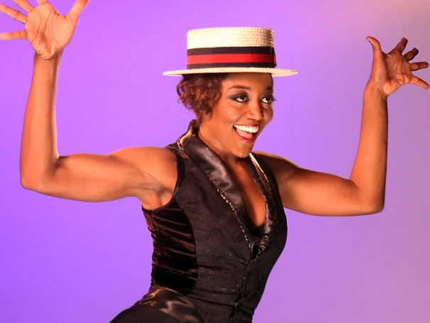 Exclusive Video! Watch Patina Miller Bust a Move at Pippin Commercial Shoot