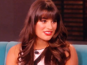 Lea Michele Teases Glee's Prostitution & Pregnancy Scandals on The View