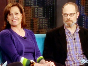 Vanya Stars Sigourney Weaver & David Hyde Pierce Drop by The View to Discuss Their 'Wild and Hilarious' Broadway Comedy