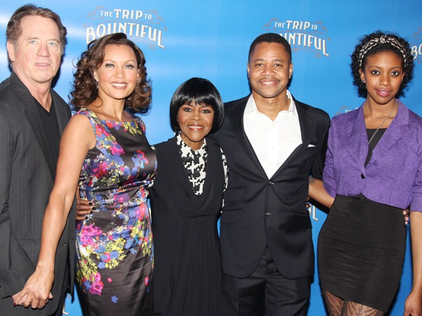 The Journey Begins! The Trip to Bountiful Stars Cicely Tyson, Cuba Gooding Jr., Vanessa Williams & More Meet the Press