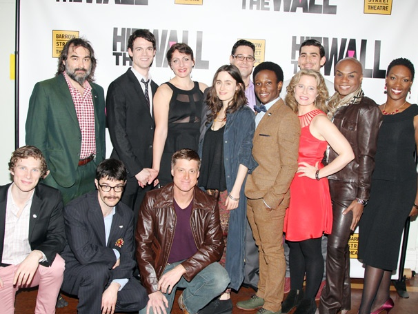 It's a Celebration in the West Village as the Stonewall-Set Drama Hit the Wall Opens Off-Broadway