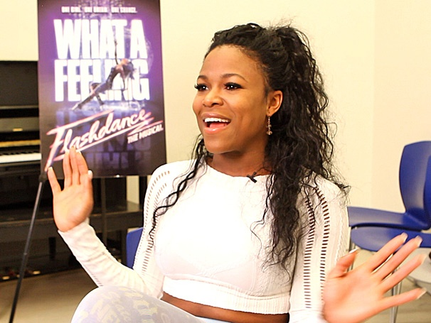 DeQuina Moore on the Fun of Playing 'Over-the-Top Sassafras' as Kiki in Flashdance on Tour