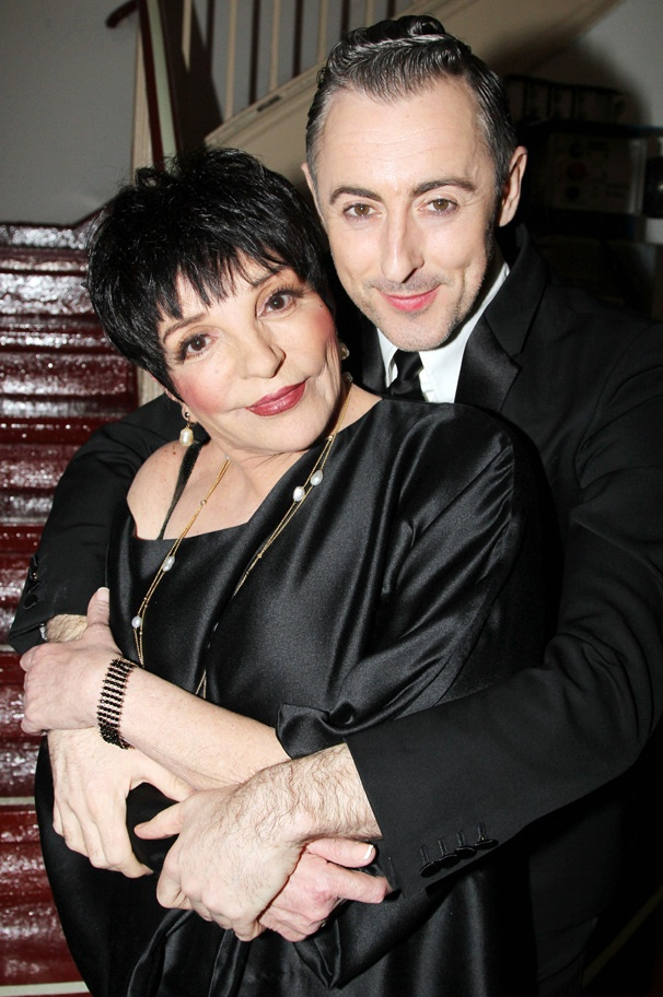 Photo of Alan Cumming & his friend  Liza Minnelli