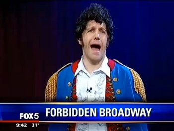 Watch Forbidden Broadway Take Aim at the Les Miserables Movie in a Hilarious New Spoof