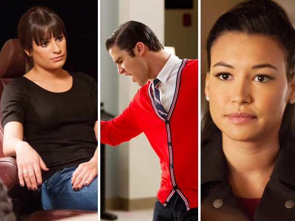 Fight! Fight! Fight! Who Are the Winners and Losers of This Week's Glee Report Card?