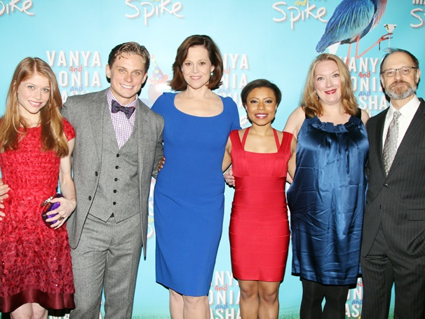 Feel the Funny at Vanya and Sonia and Masha and Spikes Opening Night on Broadway