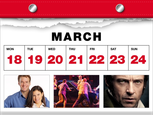 Superman Flies into NYC, Hardbody Goes Truckin' and Les Miz Lands on DVD in this Week's Datebook