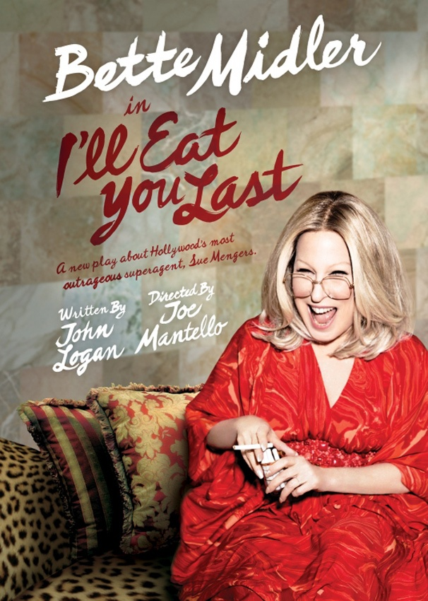 Hot Shot! Bette Midler Lights Up the Poster for I'll Eat You Last