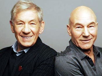 Ian McKellen Will Officiate the Wedding of His Friend and Upcoming Broadway Co-Star Patrick Stewart
