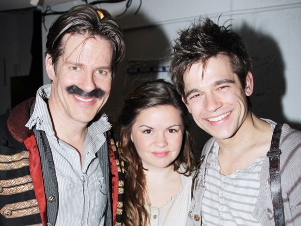 Back to Neverland! The Cast of Peter and the Starcatcher Celebrates Its Off-Broadway Return