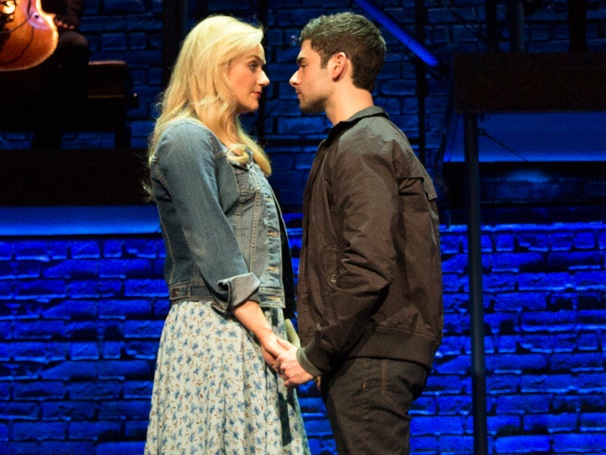See, Im Smiling! First Look at The Last Five Years, Starring Betsy Wolfe & Adam Kantor