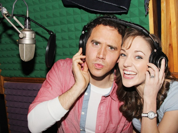 Get an Inside Look at Laura Osnes, Santino Fontana & More at the Cinderella Cast Recording