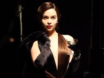 Go Behind the Scenes at Emilia Clarke's Glamorous Breakfast at Tiffany's Photo Shoot