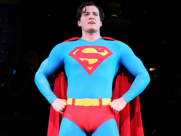 Get a First Look at Encores! Comic Book-Inspired Revival of It's a Bird…It's a Plane…It's Superman