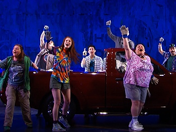 Feel the Joy of Hands on a Hardbody! Watch a Video First Look of the Uplifting New Musical