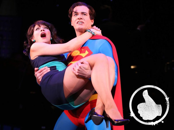 Thumbs Up! Fly to Encores! for a Hilarious and Heroic Revival of Superman