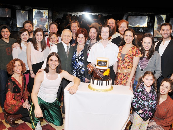 Tony-Winning Musical Once Celebrates One Melodic Year with a Broadway Jam Session
