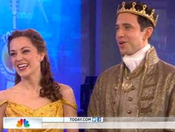 Watch Cinderella Stars Laura Osnes and Santino Fontana Deliver a 'Beautiful' Performance