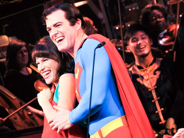 So Long, Superman! Inside the Closing Night Festivities of Encores!' Superhero Musical
