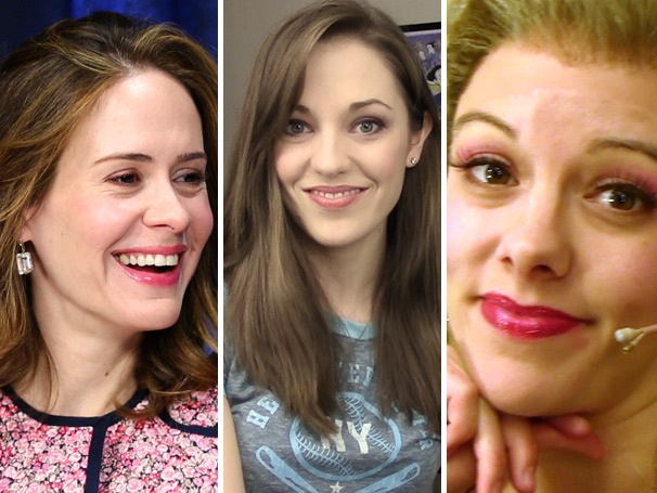 Top Five! Lively Ladies Sarah Paulson, Laura Osnes & Kate Rockwell Shine in the Week's Most-Watched Videos