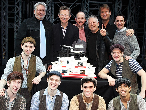 That's Rich! The Newsies Company Celebrates a Fabulous First Broadway Birthday